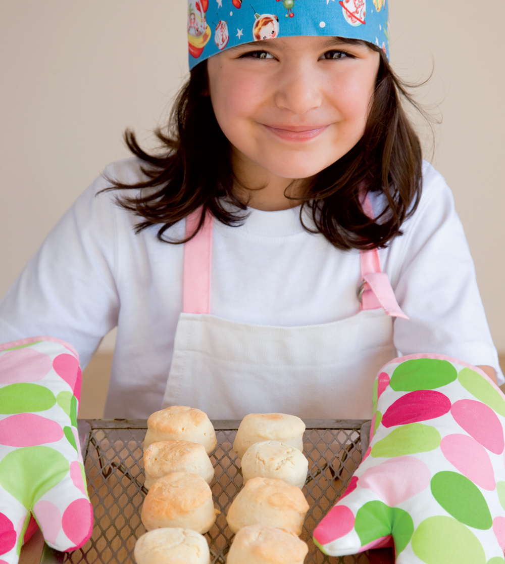 cooking with kids scones