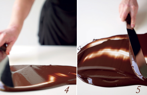 tempering chocolate 1