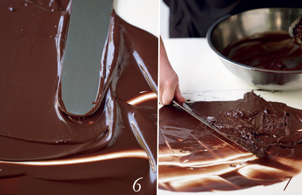 tempering chocolate 2