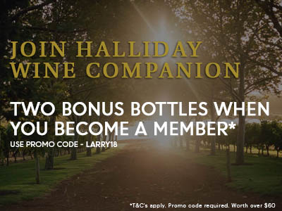 Halliday Wine Companion free wine offer