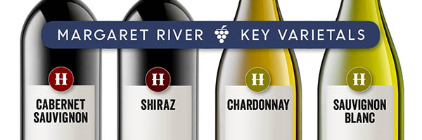 Margaret River Key Varietals